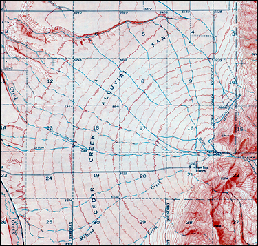Montana Earth Science Picture Of The Week - Montana topo map